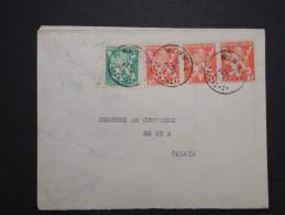 BELGIQUE - Enveloppe De Wemmel Pour Calais En 194... - A Voir - Lot  P13635 - Belgium
