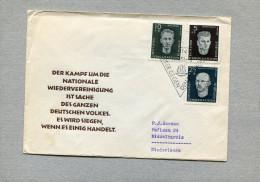 D.D.R. 1958 FDC. - [6] Oost-Duitsland