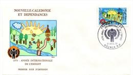 Nouvelle Calédonie - FDC Yvert PA 194 - Année Internationale De L'enfant - R 1964 - FDC