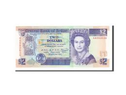 Belize, 2 Dollars Type Elizabeth II - Belize