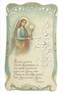 IMAGE PIEUSE Gaufrée..édit. MOREL N 1057..Communion Roger LABBE, Eglise SAINT OUEN En 1926 - Devotieprenten