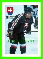 SPORTS D'HIVER, HOCKEY - BRANISLAV JANOS - BONAPARTE 1998 - - Sports D'hiver