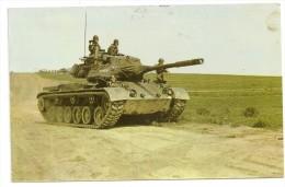 "Char ""PATTON"" M 47 / Een ""PATTON"" M 47 Bourg Léopold / Léopoldburg 1961 Vers Natoye. - Ausrüstung"