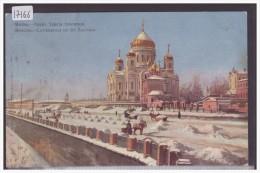 MOSCOU - CATHEDRALE DU ST SAUVEUR - TB - Russie