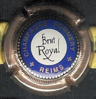 Capsule Champagne Pommery Brut Royal- Reims - Pomméry