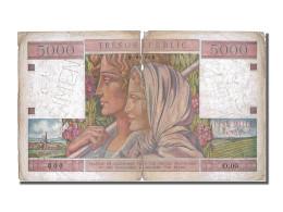 5000 Francs Type Trésor Public - Treasury