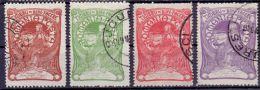 Rumänien Mi. 161-164 Gest. (€ 35,00) - Ansehen!! - 1881-1918: Charles I