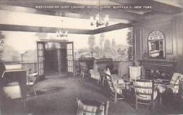 New York Buffalo Westchester Hunt Lounge Interior Hotel Lenox Ar