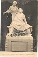 PARIS STATUE D ALFRED DE MUSSET  83 - France