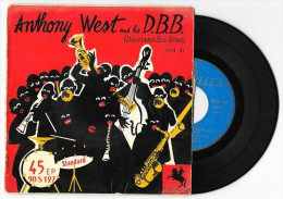 45 T ANTHONY WEST And His D.B.B. Je T'Aime Encore (+ 3) 1956 VERSAILLES 90 S 127 - Jazz