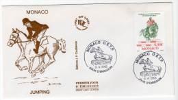 FDC - MONACO - 2005 - N°2486  - JUMPING - FDC