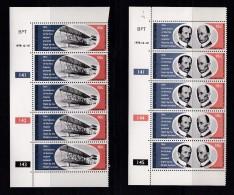 BOPHUTHATSWANA, 1979, MNH Controls Strips Of 5, Wright Brothers, M 33-34 - Bophuthatswana