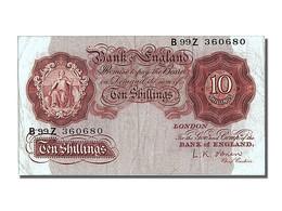 Grande-Bretagne, 10 Schillings Type 1948 - 1 Pound