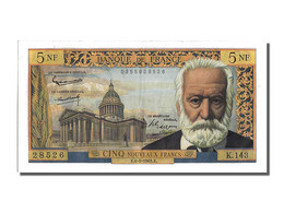 5 Nouveaux Francs Type Victor Hugo - 1955-1959 Surchargés En Nouveaux Francs