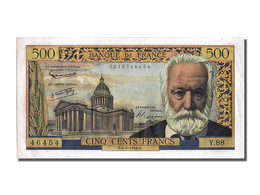 500 Francs Francs Type Victor Hugo - 1871-1952 Antichi Franchi Circolanti Nel XX Secolo