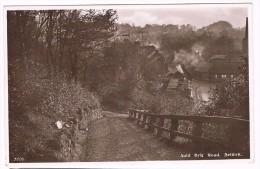 Auld Brig Road, Selkirk, Circulated 1955  - Pub. R. Edwards & Son, Selkirk - 2 Scans - Selkirkshire