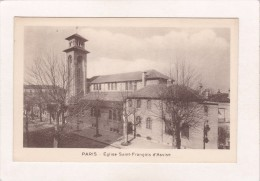 PARIS XIX° : Eglise Saint François D'Assise - Extérieur - Eglises
