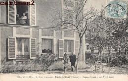 SAINT-MAUR LA VILLA MIRIBEL 18 RUE CHEVREUL FACADE OUEST 20 AVRIL 1907 - Saint Maur Des Fosses