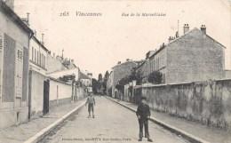 VINCENNES RUE DE LA MARSEILLAISE 94 - Vincennes