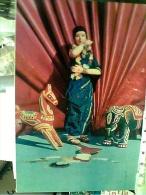 BILLET  INDIA  STATUE  TERRACOTTA CAVALLO  ELEFANTE  N1975  FC6270 - India