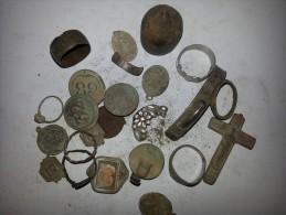 Lots Important De Diverse Objet Anneau  Romain Et Celtes - Archeologie