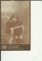 DJE11  -  CABINET  PHOTO, CDV  -  SWEDEN  -  GOTEBORG, ALINGSAS  -  BABY --  PHOTOGR.: KALEB TORIN  --  10,5 Cm X 6,5 Cm - Fotos