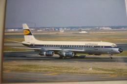 DC 8 50   LUFTANSA      N8008D - 1946-....: Moderne