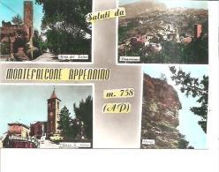69975) Cartolina Di Montefalcone Appennino-varie Vedute-nuova - Italie