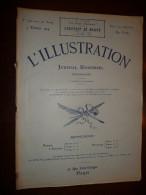 L'ILLUSTRATION N° 3702 Du 7 Fevrier 1914 - Journaux - Quotidiens