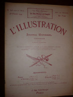 L'ILLUSTRATION N° 3705 Du 28 Fevrier 1914 - Journaux - Quotidiens