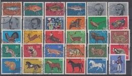 Bund Lot 2 30 Marken Mit Zuschlag Gestempelt Ansehen Und Lesen !!!!!!!!!!!!! - Briefmarken