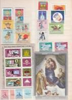 Mongolia ,8  Sets/blocks,small Collection/lot,kleine Collectie/lot,MH/Ongebruikt(L1983) - Mongolië