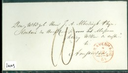 POSTHISTORIE BRIEFOMSLAG Uit 1863 Van 's-GRAVENHAGE Aan J.A. ALBERDINGK THIJM Te AMSTERDAM (10.109) - Niederlande