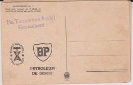 TEUNIS VAN ANDEL. GORINCHEM,  BP PETROLEUM DE BESTE - Advertising