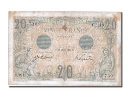 20 Francs Type Bleu - 1871-1952 Antichi Franchi Circolanti Nel XX Secolo