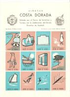 Hb De Viñetas Costa Dorada. - España