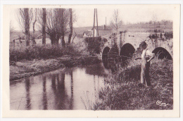 Salornay Sur Guye - Les Abattoirs (pont De Pierre, Pêcheur) Pas Circulé - Francia