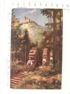 CPA (67) Bas Rhin - Château De SPESBOURG - Illustrateur HOFFMANN - Métier Schlitter - Non Classificati