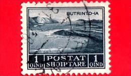 ITALIA - ALBANIA - Usato - Occupazioni - 1930 - Lago Di Butrinto - Adesione Di Re Zog I - 1 - Albania