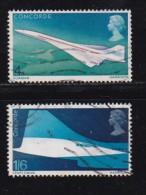 UK 1969 Used Stamp(s) Concorde Nrs. 504-506 - 1952-.... (Elizabeth II)