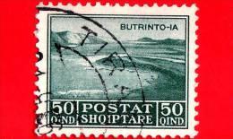 ITALIA - ALBANIA - Usato - Occupazioni - 1930 - Lago Di Butrinto - Adesione Di Re Zog I - 50 - Albania
