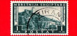 ITALIA - ALBANIA - Usato - Occupazioni -  1939 - Forte Di Kruja - 1 F. - Albania