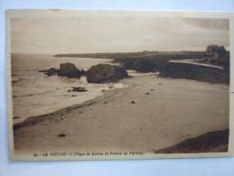 Le POULDU - Plage De Kérou , Pointe De Portsac , (29) Finistère - Le Pouldu