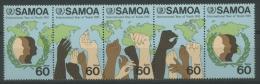 Samoa 1985 Jahr Der Jugend 571/75 ZD Postfrisch (R26127) - Samoa (Staat)