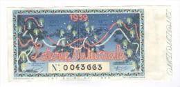 Billet Loterie Nationale - 1939 - 18ème Tranche - Billets De Loterie