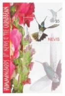 NEVIS    1423 MINT NEVER HINGED SOUVENIR SHEET OF BIRDS - Unclassified