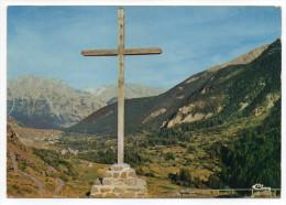 NEVACHE---Vue Générale De La Vallée De La Clarée-au Fond Nevache Et Le Guion-Croix-,cpsm 15 X 10 N°0073 éd Combier. - Autres Communes