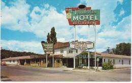 Flagstaff Arizona Route 66, Vandevier Motel, C1960s Vintage Postcard - Route '66'