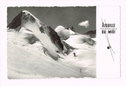 Chamonix - Mont Blanc - Ski Alpinisme-Teleski Dans La Vailée Blanche 1966 - France - Rhône-Alpes