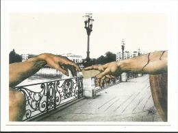 FESTICART ' 2001 A Deux Mains Enghein Les Bains - Illustrateur P. Blanchard - Tirage 500 Exp - Dédicace Au Dos - Bourses & Salons De Collections